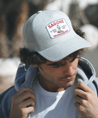 Mütze Laga Grau
