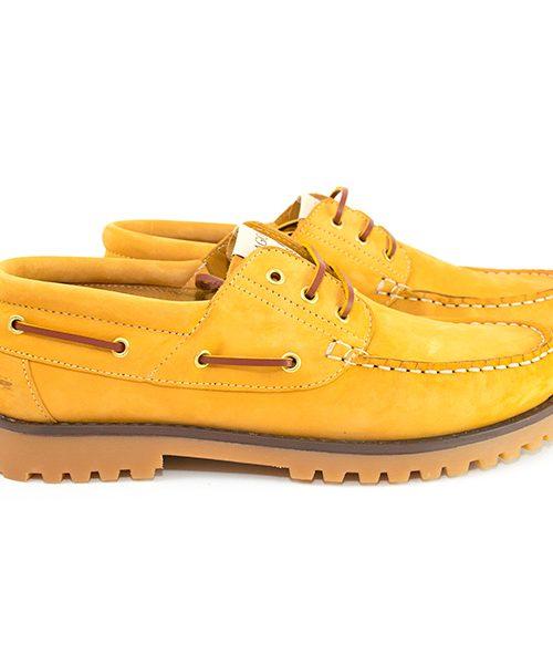 Cámel Chaussures bateau Sagone Lui/Elle