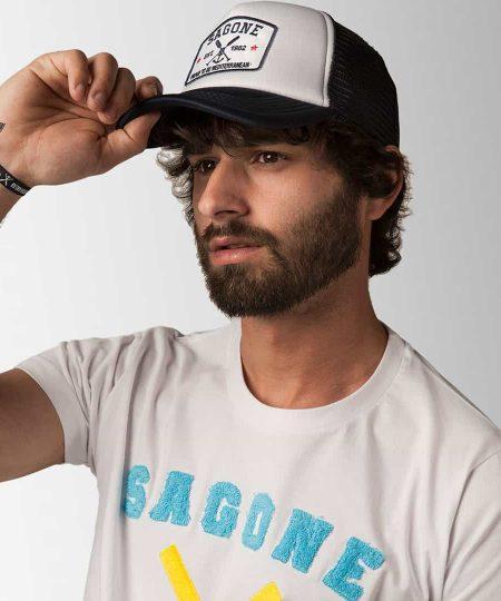 Cappello Son Bou Bianco e Blu